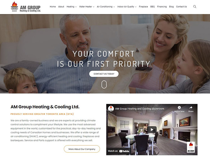 AM Group Heating & Cooling Ltd.