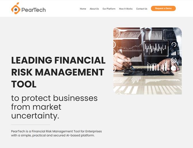 Peartech Website Design