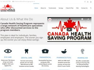 Canada Health Saving Program