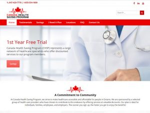 Canada Health Saving Program (chsp)