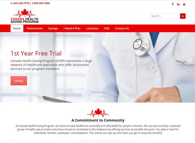 Canada Health Saving Program (chsp)