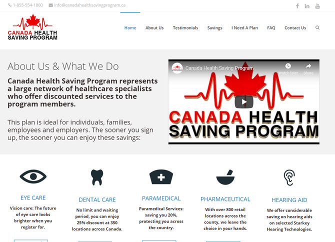 Canada Health Saving Program