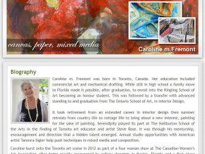 Caroline Fremont Visual Artist