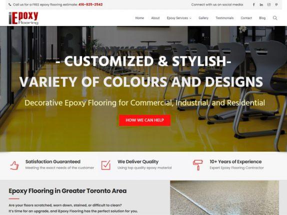 Iepoxy Flooring Toronto