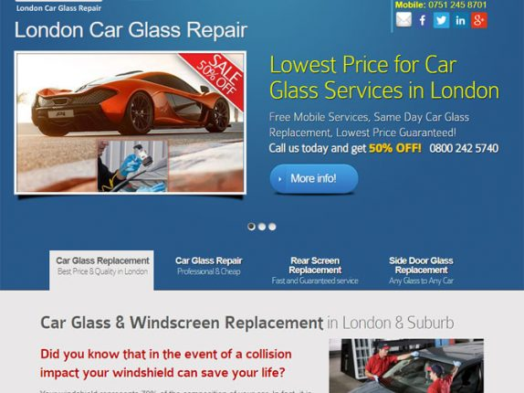 London Car Glass Repair