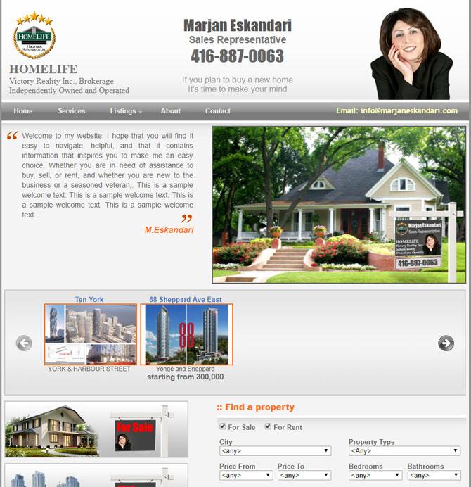 Marjan Eskandari Sales Representative Homelife Real Estate