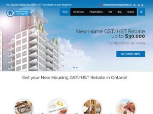 New Housing Rebate
