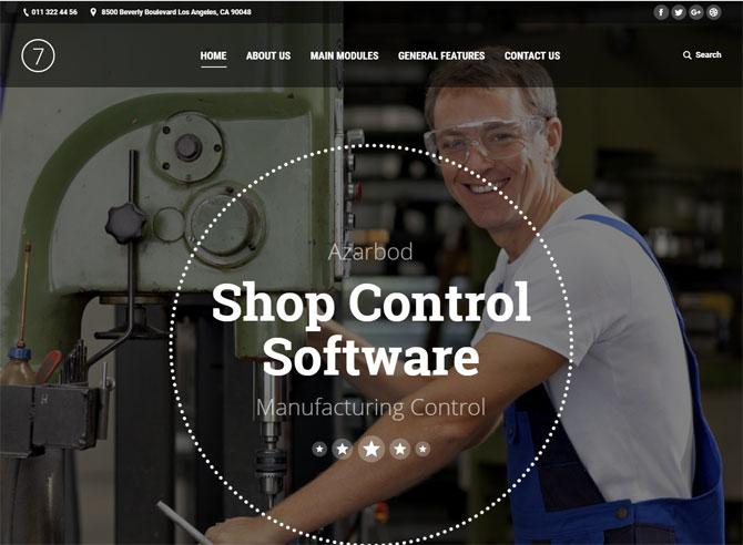Shop Control Software