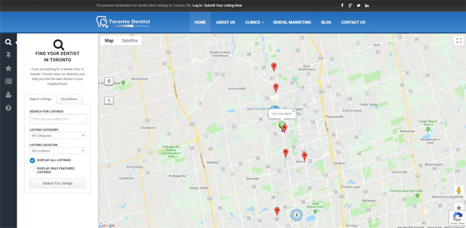 Toronto Dentist Directory